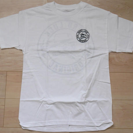 "HARD LUCK ""GREAT TIMES"" S/S Tシャツ (WHITE)"