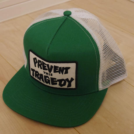 THERSHER MESH CAP/GREEN