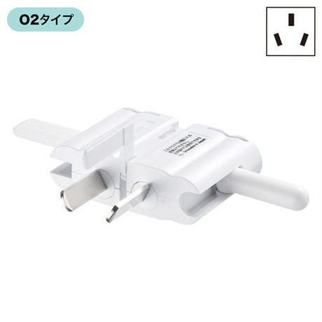 Power plug shape conversion adapter  SANWA SUPPLY