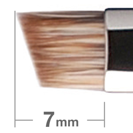 HAKUHODO B series B015 Eyebrow Brush Angled Water badger