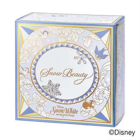 SHISEIDO Snow Beauty 2018 Snow White collaboration design Limited Edition Whitening Face Powder