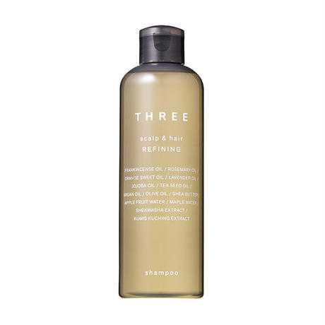 THREE Scalp & Hair Refining/Reinforcing Shampoo 250mL 93% naturally derived ingredients
