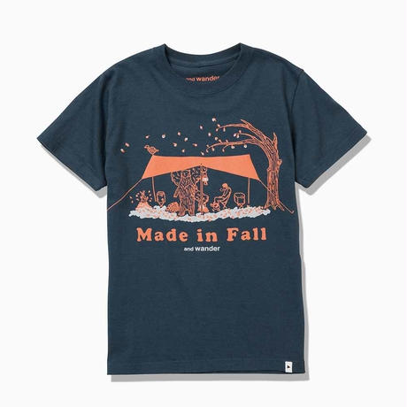 andwander/made in fall printed T