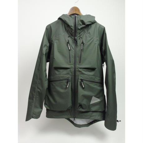 and wander/dropping pocket rain jacket