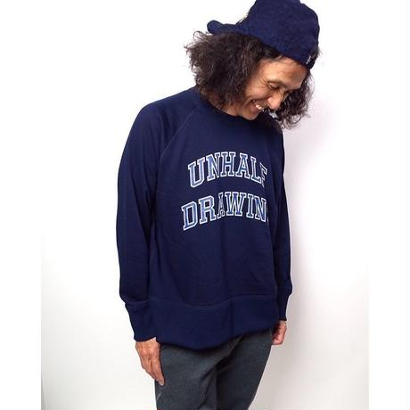 UNHALFDRAWING/SWEAT LONGSLEEVE