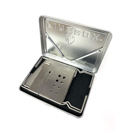 FIRE BOX/Nano Stainless Steel Box Set