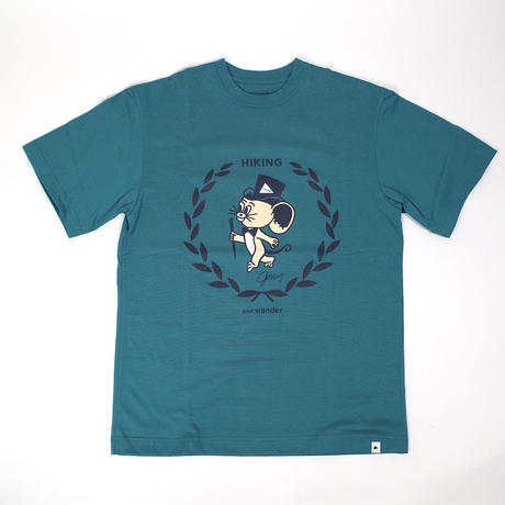 and wander/JERRY T by JERRY UKAI short sleeve T