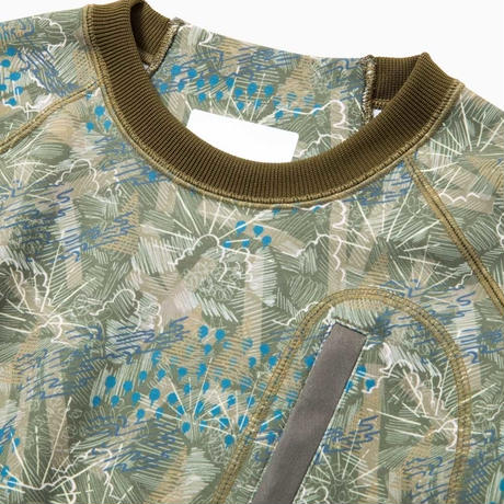 and wander/printed UV shield dry ponch pullover