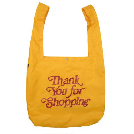 Thank you-SHOPPING BAG/YELLOW
