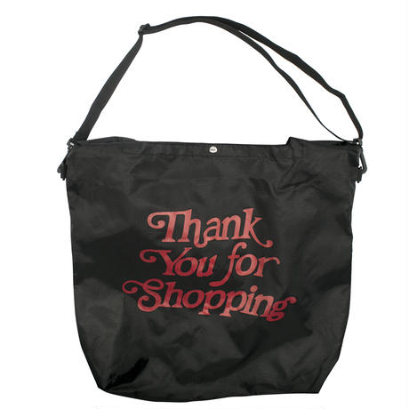 Thank you-SHOPPING BAG/BLACK