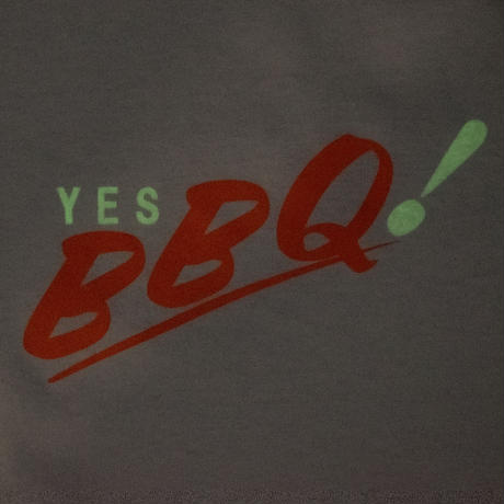YES BBQ! T / WHITE