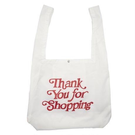 Thank you-SHOPPING BAG/WHITE
