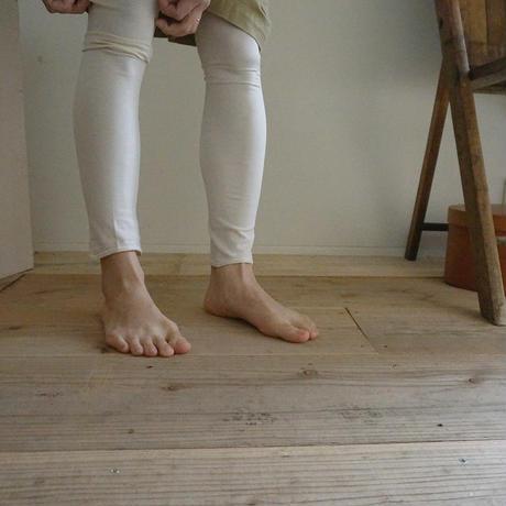 10分丈レギンス/silk