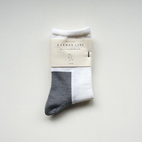 GEMINI 23-25 双子座の靴下/wool