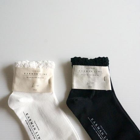 フリルソックス/PISCES cotton