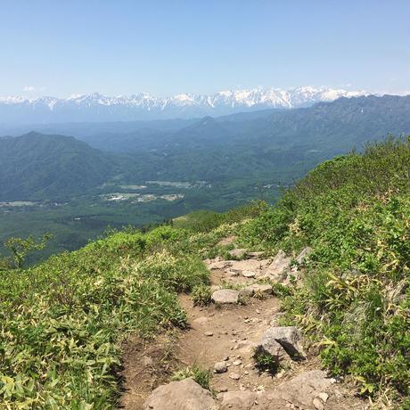 山バッチ(飯綱山)