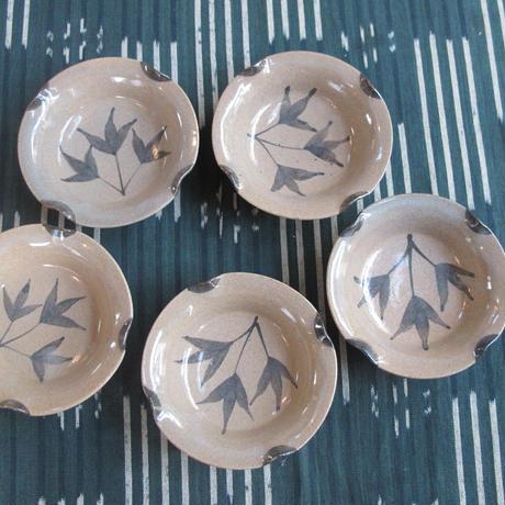三玄窯(中里重利)絵唐津珍味銘々皿5枚セット