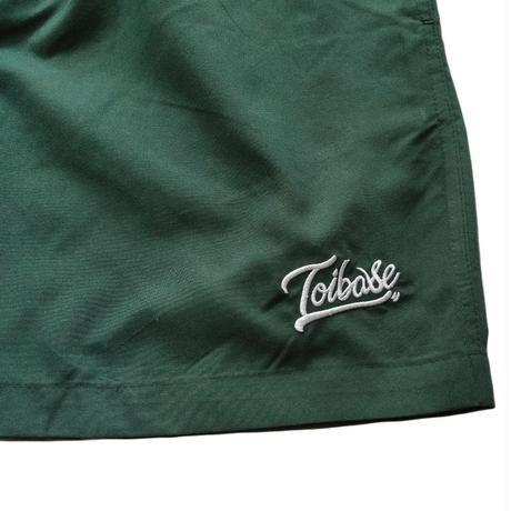 toibase tail logo microfiber ショートパンツ(寄付対象商品)