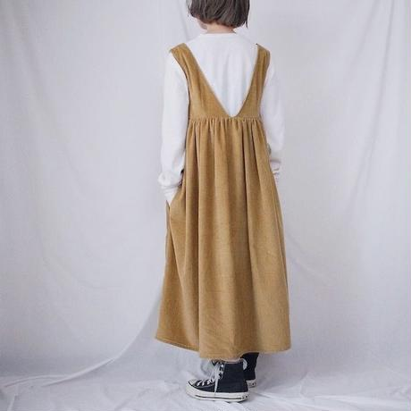 【型紙】(M)ハイウエスト切替ジャンパースカート