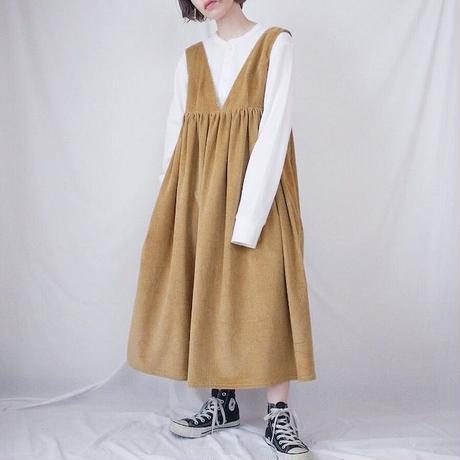 【型紙】(L)ハイウエスト切替ジャンパースカート