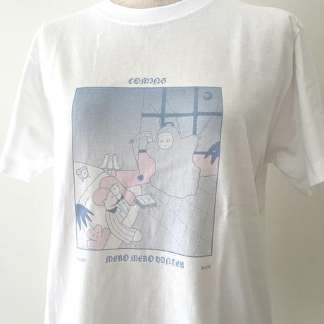 meromero hunter Tシャツ ブルー
