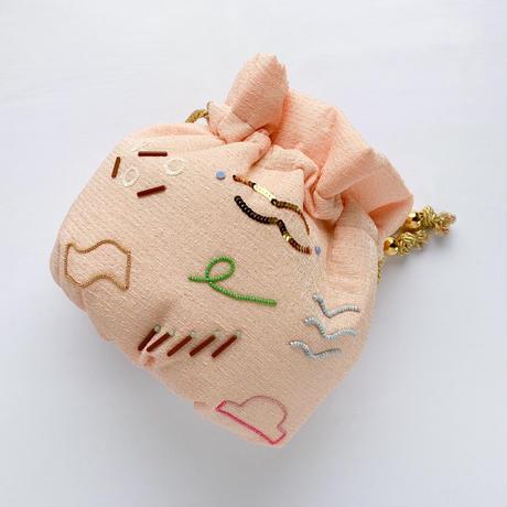 emiumigumi   Popping きんちゃくバッグ