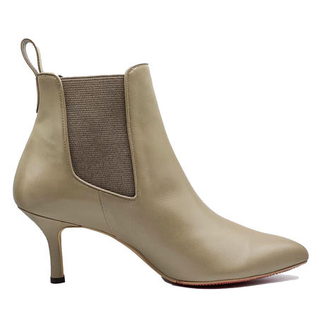 オールウェザーポインテッドサイドゴアショートブーツ/All Weather Pointed Side Gore Short Boots L0230 (GREGE)