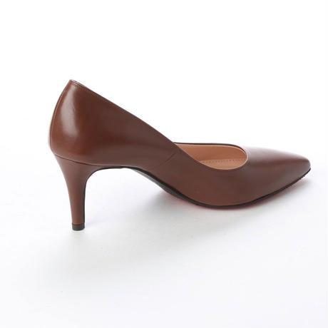 ロングノーズヒールパンプス/ Long Nose Heel Pumps L0200(BROWN)