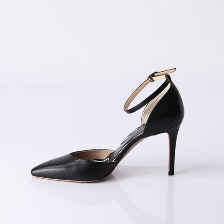 セパレーツストラップヒールパンプス / Separates strap heel pumps L0215 (BLACK)