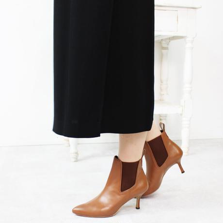オールウェザーポインテッドサイドゴアショートブーツ/All Weather Pointed Side Gore Short Boots L0230 (BROWN)
