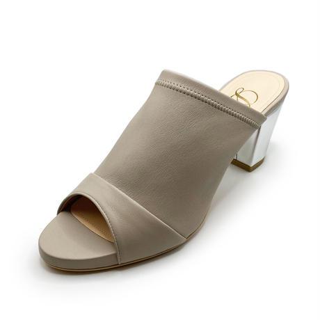 チャンキーヒールディープミュール/Chunky heel deep mules L0228(L.GRAY)