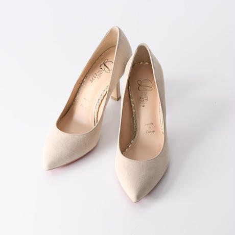 オールウェザーパンプス / All-weather Pumps L0222(P.BEIGE/S)