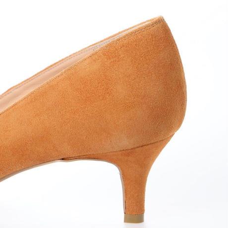 バイアスカットヒールパンプス / Bias Cut Heel Pumps L0203 (CAMEL/S)