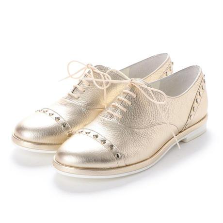 スタッズオックスフォードシューズ/ Studs Oxford shoes L0024(L.GOLD)
