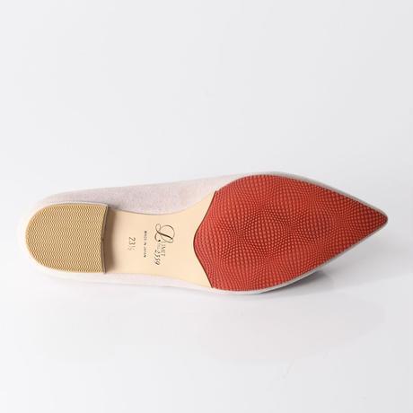 ビジューバックルフラットシューズ / Bijou buckle flat shoes L0223(L.PINK/S)