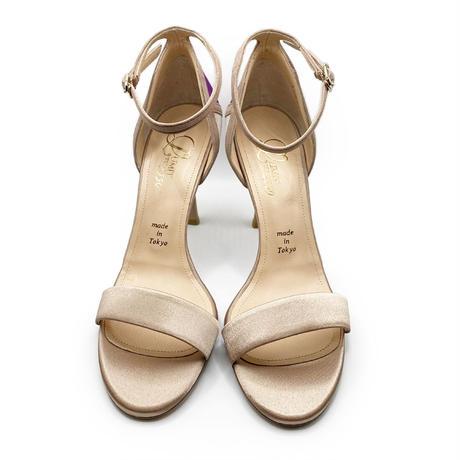 カラーパネルネックストラップサンダル/Color panel neck strap sandals L0219 (BEIGE)