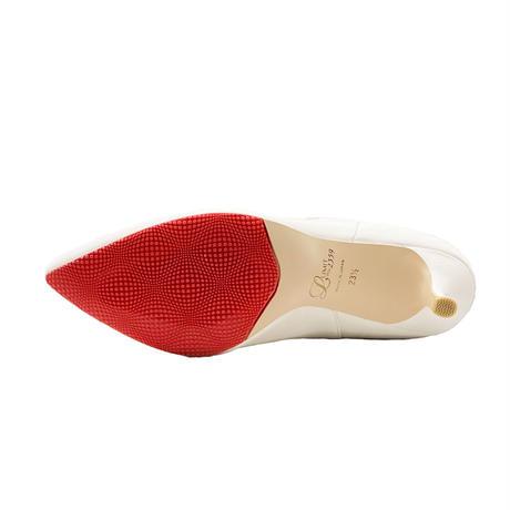 オールウェザーポインテッドサイドゴアショートブーツ/All Weather Pointed Side Gore Short Boots L0230 (OFF WHITE)