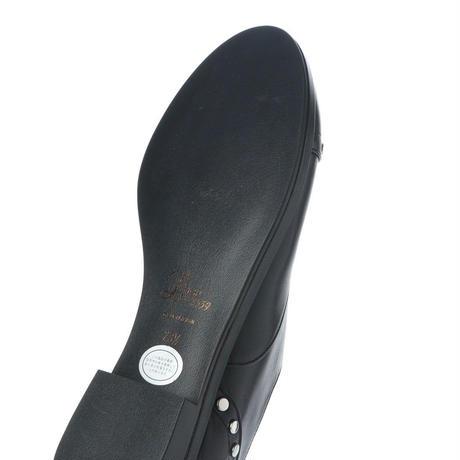 スタッズオックスフォードシューズ/ Studs Oxford shoes L0024(BLACK)