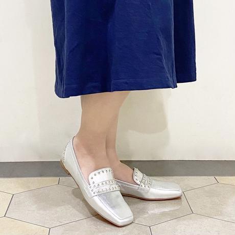 スタッズローファーシューズ / Studs Loafers Shoes L0206 (SILVER)
