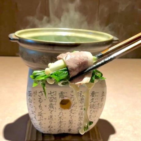 京鴨ロースしゃぶしゃぶ鍋セット(冷凍)4〜5人前