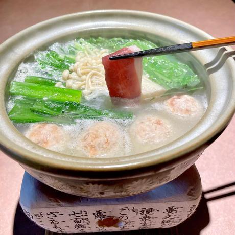 京鴨ロースしゃぶしゃぶ鍋セット(冷蔵)2〜3人前