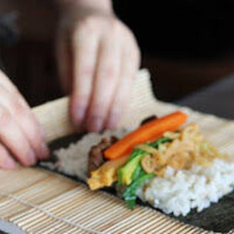 ~発酵韓国弁当~キムパと韓国漬物(チャンアチ)