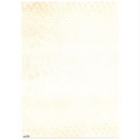 ヘビ革・モラレスパイソン【A4】白×黒/マット/Sランク/ps539