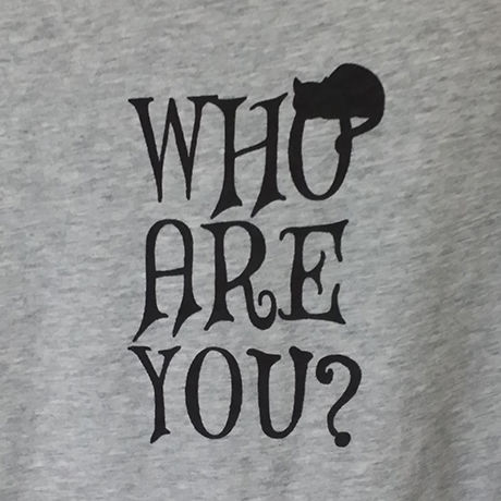 WHO ARE YOU?ドルマンT