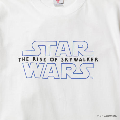 STAR WARS LOGO TEE WHITE