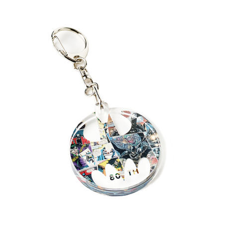 BATMAN 80TH Collaboration KEY RING