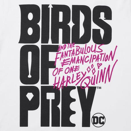 "DC ""BIRDS OF PREY"" LOGO Collaboration TEE"