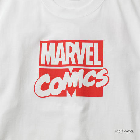 MARVEL COMIC Collaboration TEE WHITE