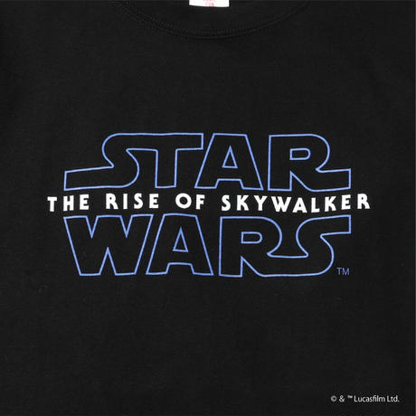 STAR WARS LOGO TEE BLACK