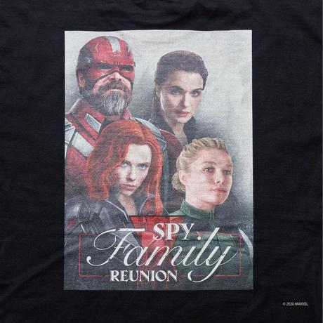 SPY FAMILY TEE (BLACK WIDOW) BLACK